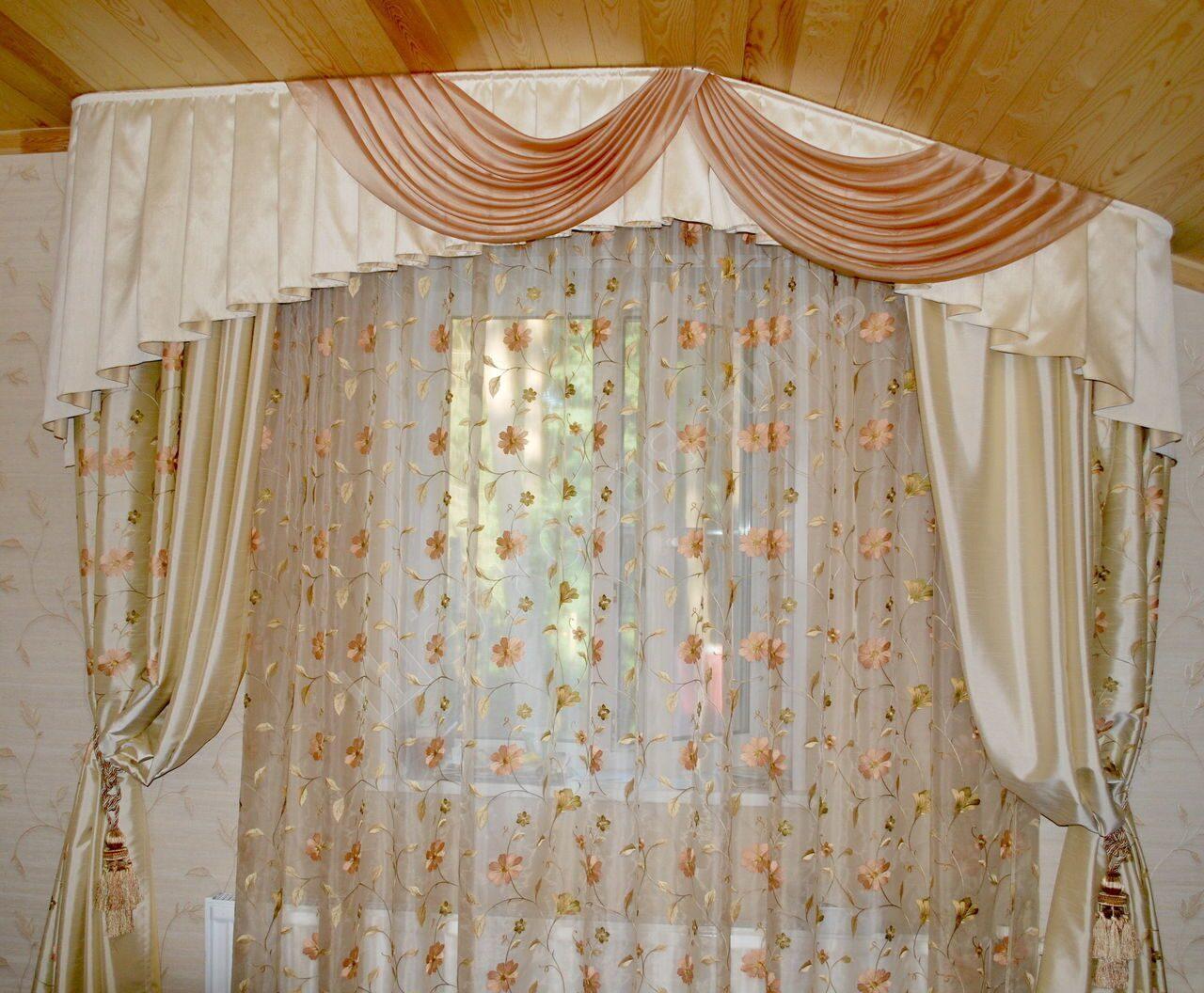 Фото шторы для спальни своими руками 92